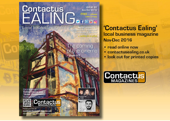 Contactus Ealing' 2016 magazine | The coming of Ealing cinema | West